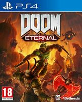 Doom Eternal PS4 PS5 Game - New & Sealed