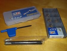 1 x ISCAR VHM MGCH 08 + 10 WSP GIQR 11-1.20-0.05 IC528 carbid inserts toolholder