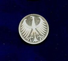 GERMANY    1965-G   5 MARKS SILVER  COIN  PROOF