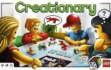 Jeu de société Creationary - Lego - Intérieur random