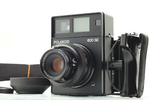 【NEAR MINT+++】Polaroid 600SE Instant Film Camera + Mamiya 127mm F4.7 From JAPAN