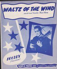 BLADMUZIEK  //  FREDDY  --  WALTZ  OF  THE  WIND