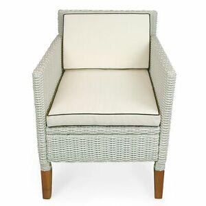 Sitzauflage Polsterauflage Stuhlauflage + Rückenkissen Rückenlehne Sessel beige