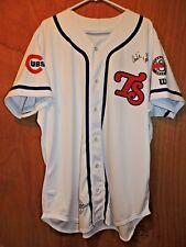 TN Smokies 2014  RAM Game Used Autographed Charlie Cutler #37 Jersey AA Cubs