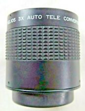 Helios 3X Auto Tele Converter M42 Screw Fit  with Case, Instructions, Boxed