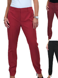 Ladies Smart Washable City Office Day Womens Work Trousers Size 10-18