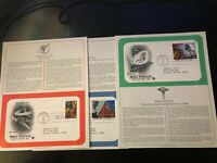 1993 US First Day Cover 29 Cent Space Fantasy Set January 25 PCS