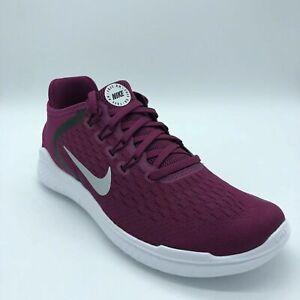 Women,s Nike Free RN 2018  Running Shoes SZ 7-True Berry White -942837 604