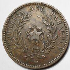 PARAGUAY : 2 CENTESIMOS 1870