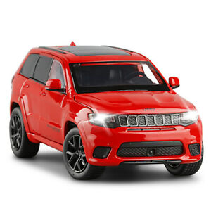1:32 Grand Cherokee Die-cast Model Toy Collection Sound and Light Gift