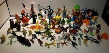 Lot of 66 Toys: Dog, Cat, Mickey, Smurf, Spongebob, Minion, Horse, Dracula