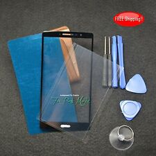 New Front Screen Glass Lens For LG G Stylo G4 Stylus LS770 w/Frame tape & tools