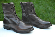 Clarks Winter Boots MOODY CUTE Dark Brown Leather UK 8 / 42
