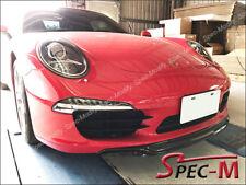 12-16 OE Style CARBON FIBER FRONT LIP FOR PORSCHE 911 991 Targa & Carrera 4/4S/S