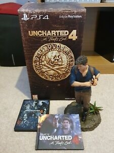 UNCHARTED 4 LIBERTALIA COLLECTOR'S EDITION ~ Complete ~ EXCELLENT! ~ PS4