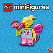 LEGO Minifigures #71018 - Serie 17 - Fille Papillon / Butterfly - NEW - SEALED