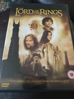 The Lord of the Rings: The Two Towers 2 Disc DVD (2003) Cert 12, FREE POSTAGE!!