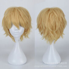 "Short Straithrt wig 12"" 30cm 20 colors  Curly Cosplay Wig fashion hair"