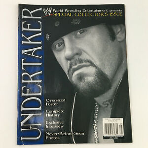 WWE Magazine Special Collector's Issue April 2003 The Undertaker, w Poster
