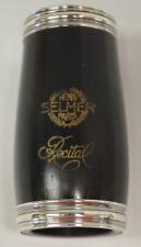 USED SELMER PARIS RECITAL Bb CLARINET .645 WOOD BARREL