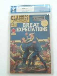Classics Illustrated #43 - GREAT EXPECTATIONS - HRN 42 Fine+