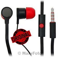 HTC AURICOLARE STEREO ORIGINALE IN-EAR 39H00014-00M MAX-300 NERO ROSSO 000199A