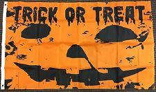 3x5 Trick or Treat Pumpkin Jack O Lantern Flag Happy Halloween Outdoor Banner