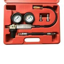 Automotive Engine Cylinder Leak Compression Tester Detector Kit Withgauge Warranty
