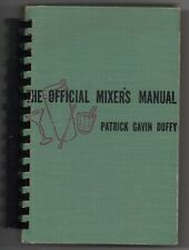 1940 Hardcover Official Mixers Manual Bartender's Guide Patrick Duffy 328 pages