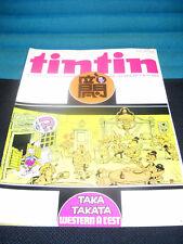 tintin 36 / 32 Journal / Belgische Comic -  Wochenzeitschrift in Frz. Zust. 1