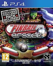 Pinball Arcade For PAL PS4 (New & Sealed)
