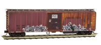 San Luis Central Weathered 51' Ribside Mechanical Reefer MTL #070 52 080 N-Scale