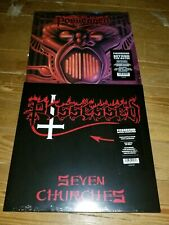 Possessed  2 Lps Beyond The Gates / Seven Churches Colored Vinyl