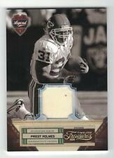 2011 PRIEST HOLMES PANINI TIMELESS TREASURES MATERIAL JERSEYS PRIME #8/25 CHIEFS