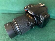 Nikon D40 6.1MP Digital SLR Camera (Black) with 55-200mm VR ii lens