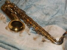 King Super 20 Tenor Saxophone #356XXX, Cleveland, Reverse Socket, 1957, Great!