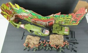 MATTEL HEROES IN ACTION 1974 LOT (Helicopter, Jeep, Men, Accessories, etc.)