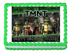 TMNT Teenage Mutant Ninja Turtles edible cake image party cake topper decoration