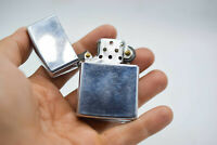 Zippo 1991 Lighter Vintage Chromed Gas Rare USA Bradford Cigarette Collectors