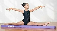 Springee 6ft Extra Firm Vinyl Folding Gymnastics Balance Beam for Home Purple