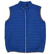 Gilet uomo SELIM P987 FIFTY FOUR Smanicato azzurro man S M XXL  giacca
