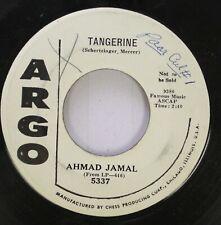 Jazz 45 Ahmad Jamal - Tangerine / Seleriyus On Argo