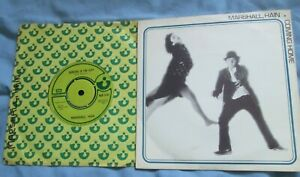 """MARSHALL HAIN - DANCING IN THE CITY and COMING HOME - 2 X 7"""" VINYL SINGLES"""