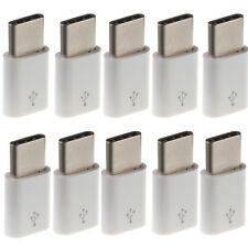 10pcs Micro USB to USB 3.1 Type C Adapter Converter For Samsung Huawei LG Phone