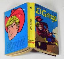 """Fumetto Raccolta Western """" EL Gringo"""" 1977 Max Bunker numeri 1-2-3 Corno -00EF"""