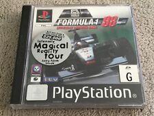 Formula 1 98 (Sony PlayStation 1, 1998) PS1 Game PAL racing