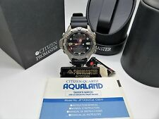 Titanium CITIZEN Promaster Aqualand II JP1030-02L Diver C500-Q00559 Box & Papers
