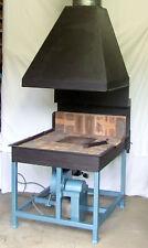 Blacksmiths Forge & Centrifugal Blower PLANS