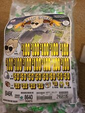 Jar Tickets! HAPPY VALLEY Instants pull tabs Bingo Jar Tickets Profit $830