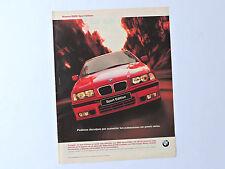 Publicidad BMW Sport Edition / Anuncio Advert Publicite Pubblicita Reklame 318is
